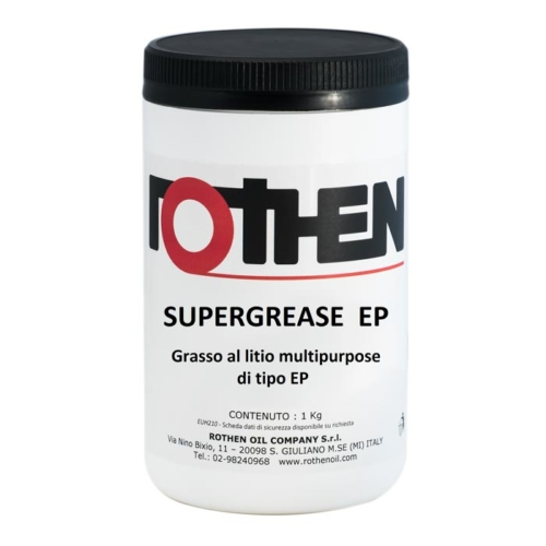 Rothen Supergrease EP - Grasso al litio multifunzionale