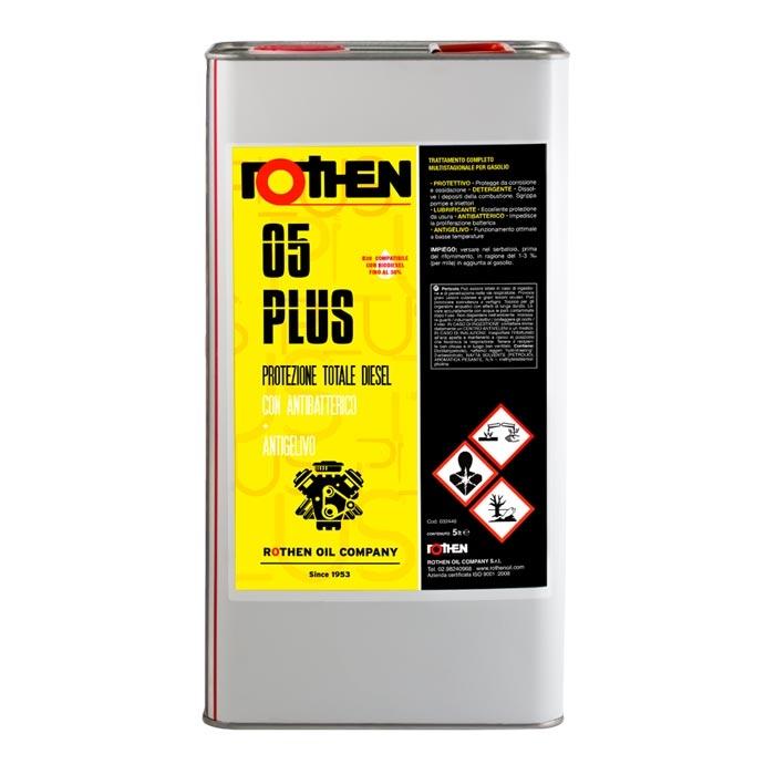 Rothen 05 Protezione Totale 5 litri - additivo multistagionale diesel