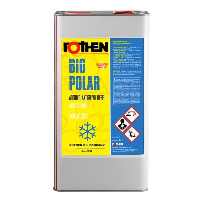 Rothen Bio Polar 5 litri - Additivo invernale biocida diesel