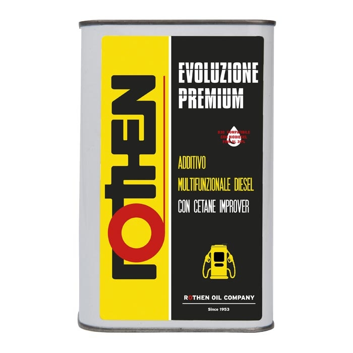 Rothen Evoluzione Premium 1 litro - Additivo diesel cetane improver