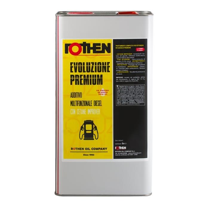 Rothen Evoluzione Premium 5 litri - Additivo diesel cetane improver