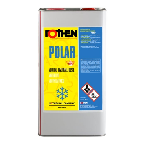 Rothen Polar 5 litri - Additivo invernale diesel antiparaffina