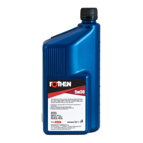 Olio motore totalmente sintetico specifico per motori benzina e diesel Volkswagen / Audi