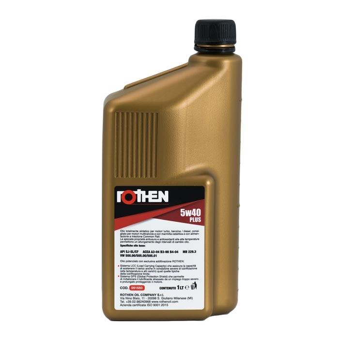 Rothen Extrasynt 5w40 Plus - Olio motore diesel benzina