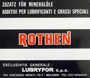 Rothen timeline 1970