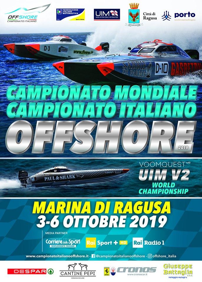Endurance Offshore Marina di Ragusa ottobre 2019