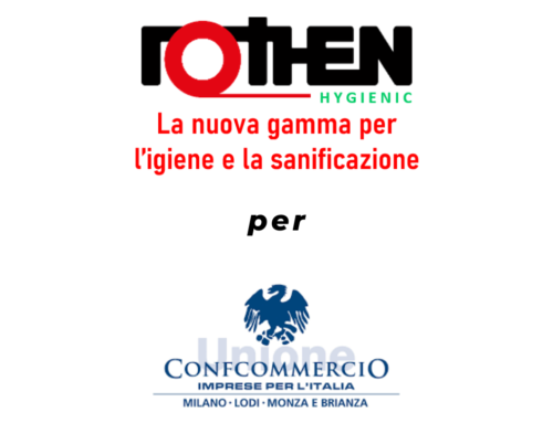 Rothen Hygienic per Confcommercio