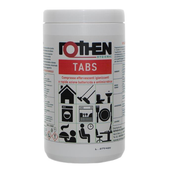 Rothen - Barattolo Tabs compresse effervescenti igienizzanti