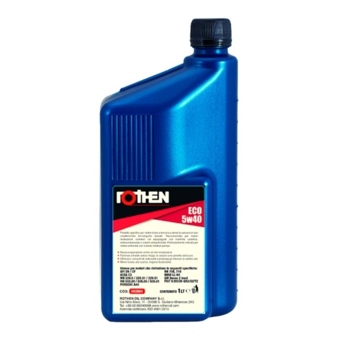 Rothen olio sintetico Ultrasynt Eco 5w40 1 litro